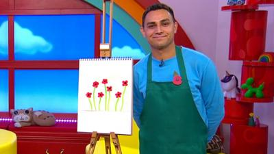 CBeebies House - Create your poppy pictures