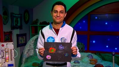 CBeebies House - Make a solar system picture