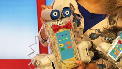 CBeebies House - Build your own robot