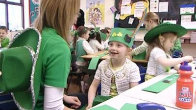 Let's Celebrate - St Patrick's Day - Rainbow Hat