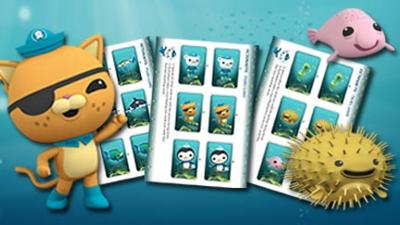 Octonauts Print and Play Pairs Game