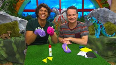 CBeebies House - Dinosaur Sock Puppet