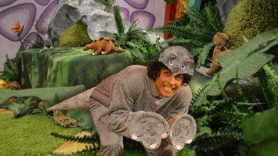 CBeebies House - Dinosaur Tail