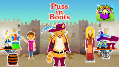 CBeebies Puss in Boots - Puss in Boots in the Storytime app