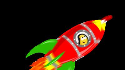 CBeebies space rocket