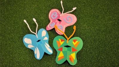 Tree Fu Tom - Puppet Butterflies