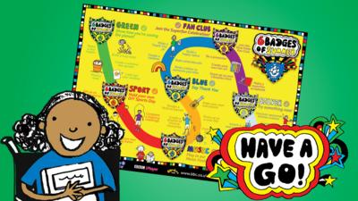 CBeebies House - Download the 6 Badges of Summer Wall Chart