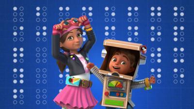 Bitz & Bob - Braille