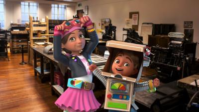 Bitz & Bob - Printing Press