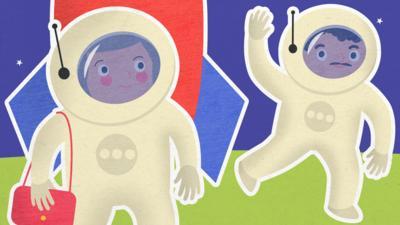 CBeebies Radio - Granny Anne's Joke World  – Scrapbooks and Space Mums