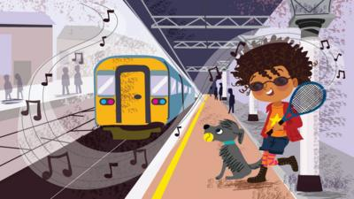 CBeebies Radio - iSpy Sound Detective – Train