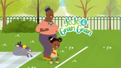 JoJo & Gran Gran - It's Time For The London Fun Run