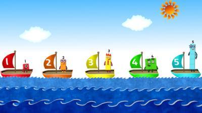 Numberblocks - Five Little Boats