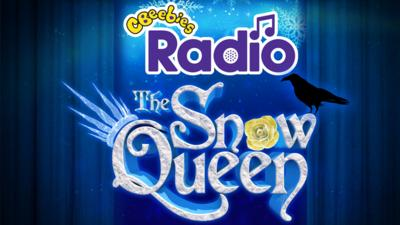 The Snow Queen on CBeebies Radio with a raven and a yellow winter rose.
