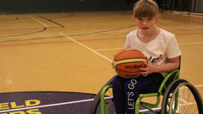 CBeebies Radio - Sporting Superstars – Wheelchair Basketball