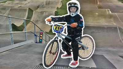 CBeebies Radio - Sporting Superstars – BMXing