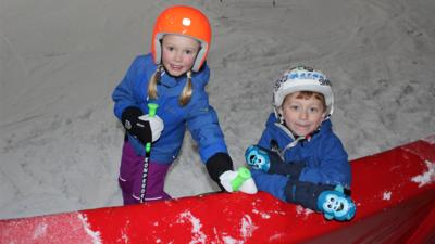 CBeebies Radio - Snowboarding and Skiing