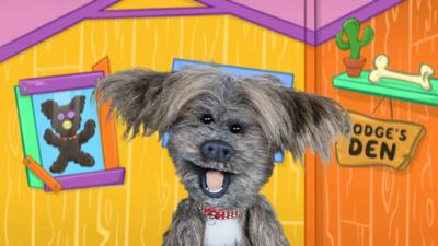 CBeebies House - Dodge's Paw Point Chart