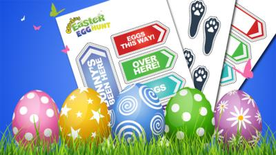 Let's Celebrate - Easter Egg Hunt Kit