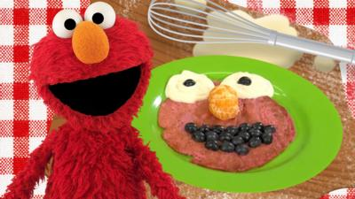 The Furchester Hotel - Elmo Pancake Recipe