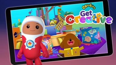 CBeebies Get Creative app