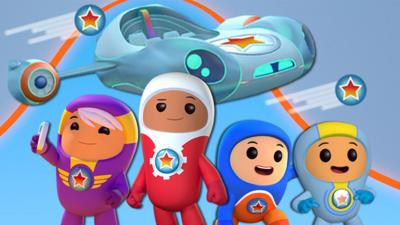 Go Jetters - Go Jetters Global Glitch game