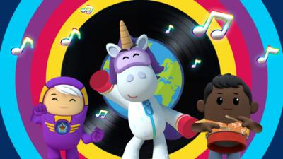 Go Jetters - Go Jetters Global Grooves game