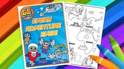 Go Jetters - Go Jetters Adventure Wall Chart