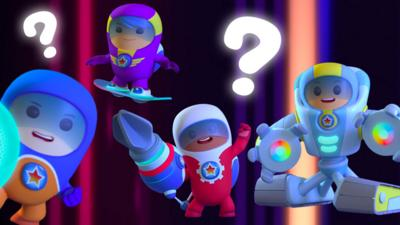 Go Jetters - Go Jetters Click-on Quiz