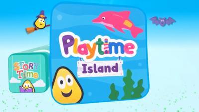 Peter Rabbit - Halloween in CBeebies Playtime Island app