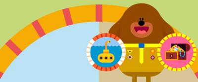 Hey Duggee and some badges.