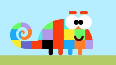 Hey Duggee - Can you find Cosey the chameleon?