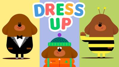 Hey Duggee - Dress up time with Duggee!