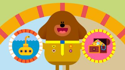 Hey Duggee - Hey Duggee Squirrel Club Quest Game