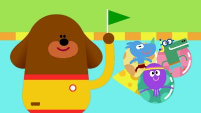 Hey Duggee - The Paddling Badge Game