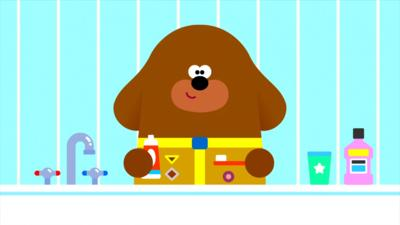 Hey Duggee - Earn your Tooth Brushing Badge!