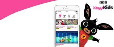 Bing and the iPlayer Kids app