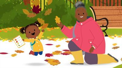 JoJo & Gran Gran - Spot the Autumn Leaves