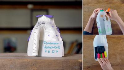Junk Rescue - Magical milk carton creations