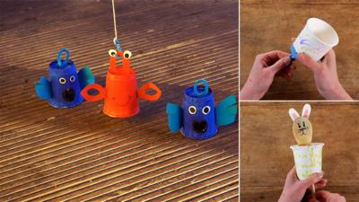 Junk Rescue - Fantastic paper cup crafts