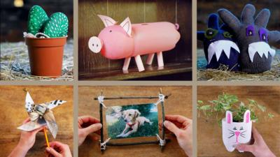 Junk Rescue - Recycled craft playlist