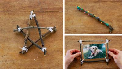 Junk Rescue - Spectacular sticks and twigs