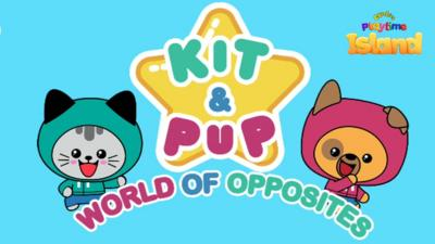 Kit & Pup - Play the brand new Kit & Pup game in the CBeebies Playtime Island app