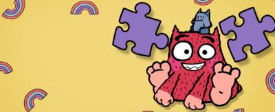 Love Monster fun and games on CBeebies