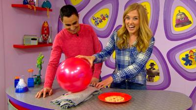 CBeebies House - How to make cereal jump