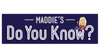 Maddie's Do You Know? logo image.