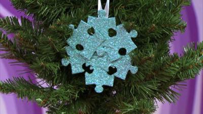 Mister Maker - Jigsaw Christmas Decoration