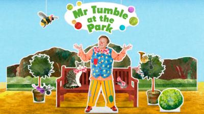 Mr Tumble in the park story
