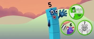 Numberblocks Make and Play game