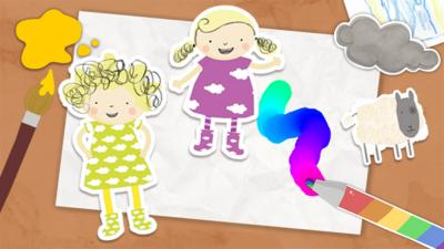 Nelly and Nora - Nelly and Nora Make a Picture